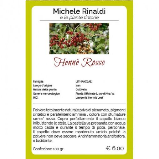 Hennè Rosso - Michele Rinaldi