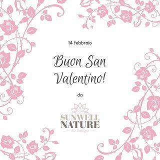 Buon S.Valentino ❤❤❤❤❤ #sunwellnature #sanvalentino2020 #innamorati #love #loveislove #loveyourself #loveyourbody #biologico #bioprofumeria #bellezzaalnaturale #cosmesiecobio #regalonatural